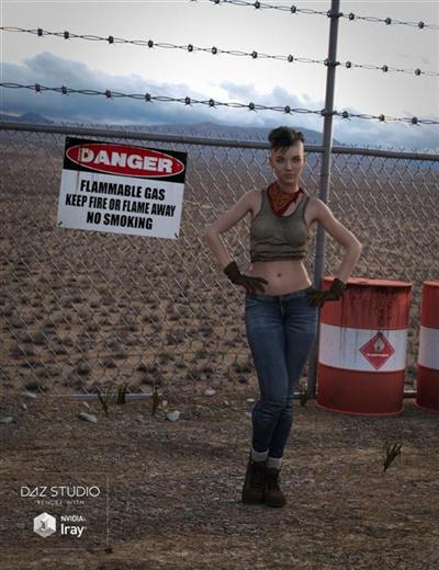 DAZ3D - Poser - Restricted Zone