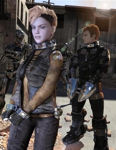 DAZ3D - Science Fiction Restraints Iray