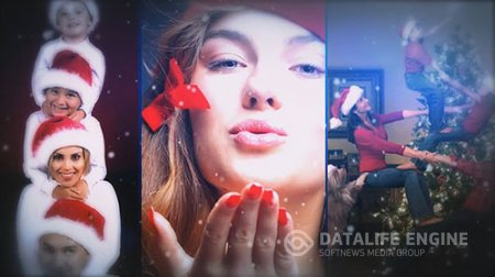 Dynamic Christmas Photography - After Effects Templates
