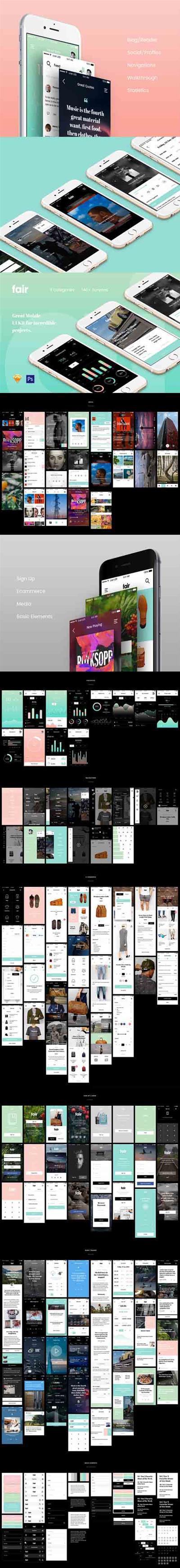 Fair Mobile UI Kit