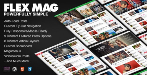 Flex Mag v1.12 - Responsive WordPress News Theme logo