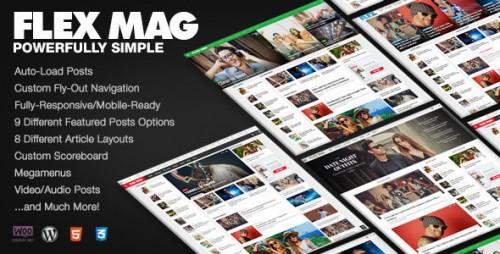 Flex Mag v1.12 - Responsive WordPress News Theme logo