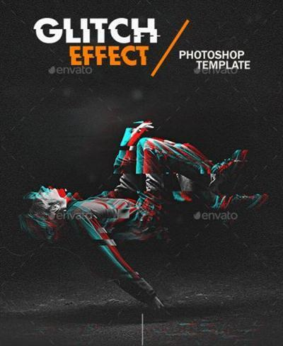 GraphicRiver - Glitch Effect