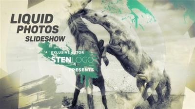 Liquid Photos Slideshow - Project for After Effects (Videohive)
