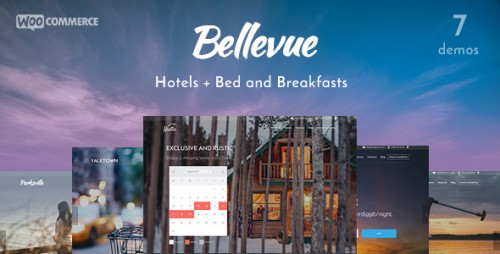 Nulled Bellevue v1.8.4 - Hotel + Bed & Breakfast Booking Theme