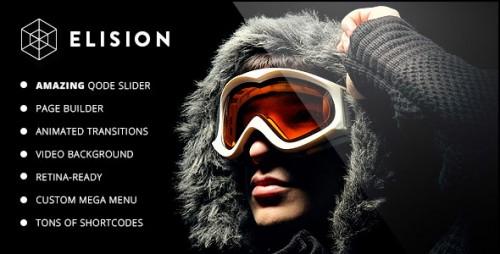 Nulled Elision v3.4 - Retina Multi-Purpose WordPress Theme snapshot