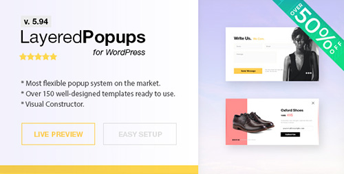 Nulled Layered Popups for WordPress v5.94 picture