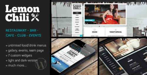 Nulled LemonChili v2.02 - a Premium Restaurant WordPress Theme