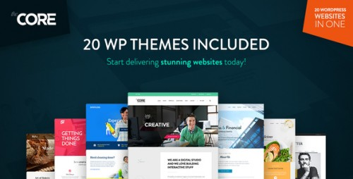 Nulled The Core v1.0.1.5 - Multi-Purpose WordPress Theme
