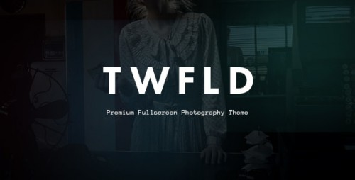 Nulled TwoFold Photography v1.4.0 - Fullscreen Photography Theme
