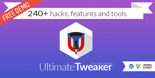 Nulled Ultimate Tweaker for WordPress v1.5.0 pic