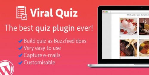 Nulled WordPress Viral Quiz v2.09 - BuzzFeed Quiz Builder