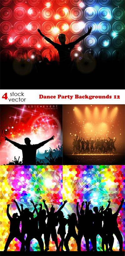 Vectors - Dance Party Backgrounds 12