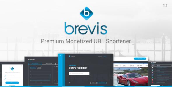 Brevis v1.3.1 - Premium Monetized URL Shortener