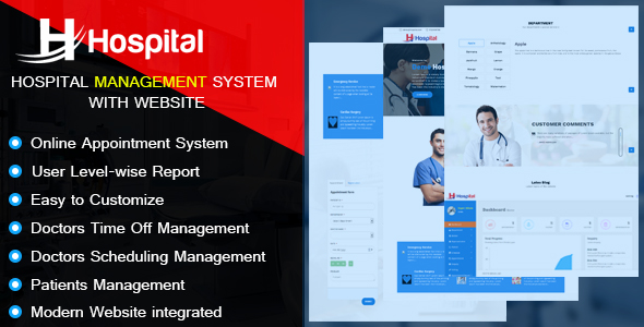 Hospital – Hospital Management System with Website