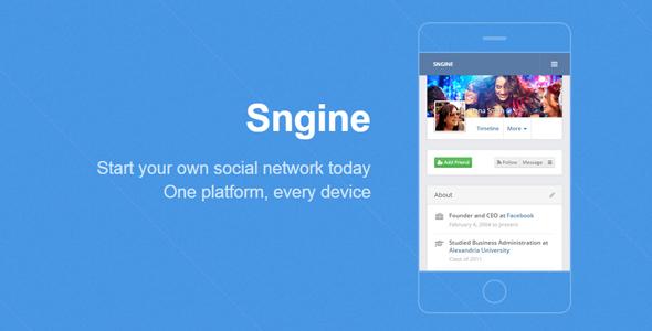 Sngine v2.3 - The Ultimate Social Network Platform
