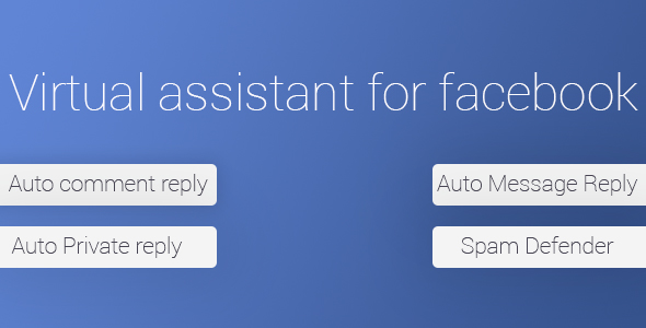 Virtual Assistant For Facebook