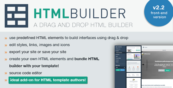 HTML Builder (Front-End Version) v2.28