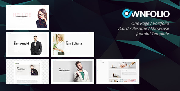 nulled ownfolio  u2013 one page personal portfolio    vcard