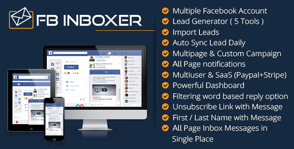 FB Inboxer - Master Facebook Messenger Marketing Software