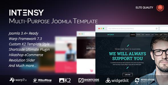 nulled intensy  u2013 multipurpose joomla template