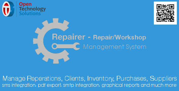 Repairer - Repair/Workshop Management System 1.2