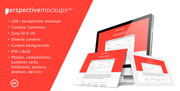 Perspective Mockups PHP Plugin
