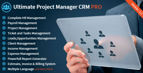 Ultimate Project Manager CRM PRO v1.2
