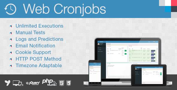 Web Cronjobs - Cronjobs Management Tool