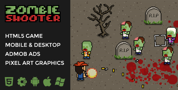 Zombie Shooter - 2D Isometric Action