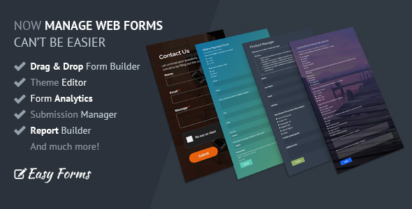 Easy Forms v1.4.1 - Advanced Form Builder and Manager