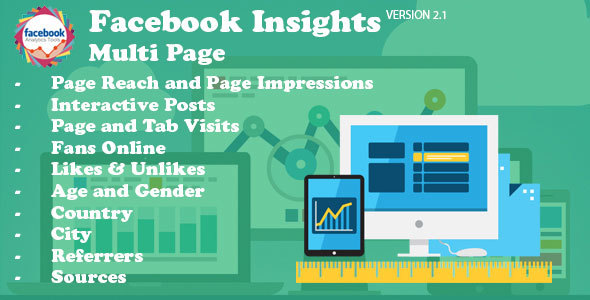 Facebook Insights Multi Page