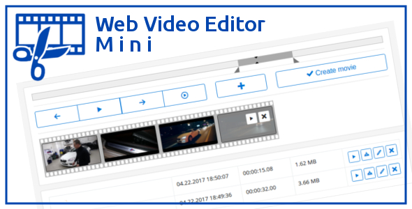 Web Video Editor Mini