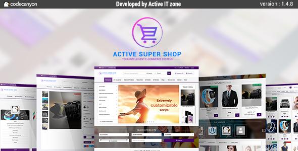 Active Super Shop Multi-vendor CMS v1.4.8
