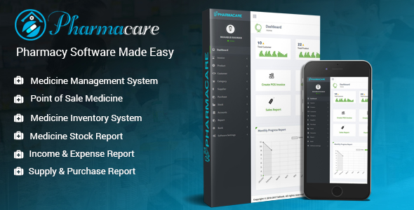 Pharmacare v2.0 - Pharmacy Software Made Easy