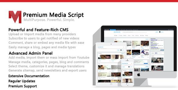Premium Media Script v1.6
