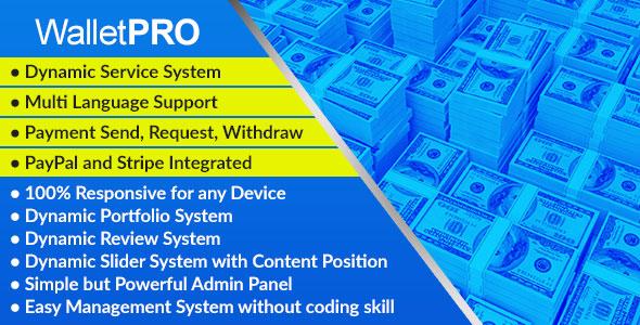 WalletPRO - Dynamic Payment Gateway