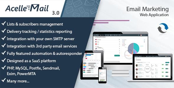 Acelle Email v3.0.12 - Marketing Web Application