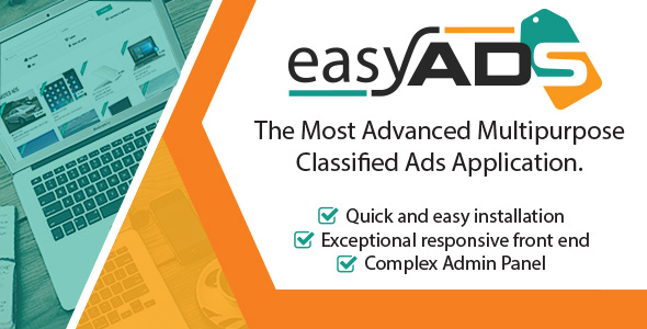 EasyAds v1.0.2 - Complex Classified Ads Application