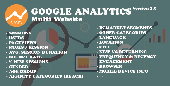 Google Analytics Multi Website v2.0