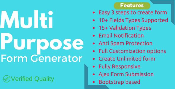 Multi-Purpose Form Generator v2.1