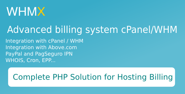 Complete register domain and billing for cPanel/WHM v1.0.4