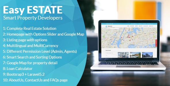 EasyEstate v1.1 - Real Estate Portal