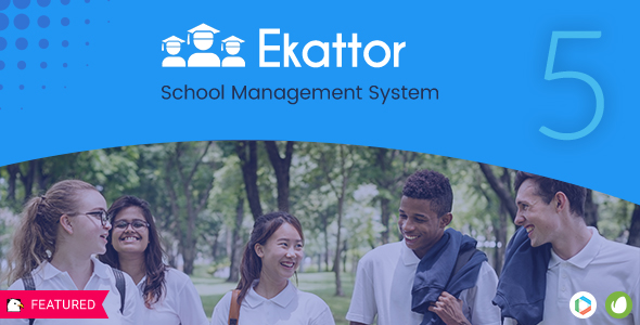 Ekattor School Management System Pro v5.0