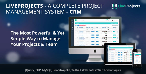 LiveProjects v3.0 - Complete Project Management CRM
