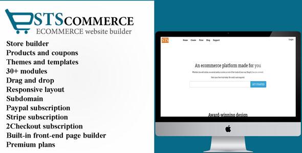 STSCommerce v2.2.1 - eCommerce site builder