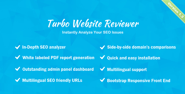 Turbo Website Reviewer v1.2 - In-depth SEO Analysis Tool