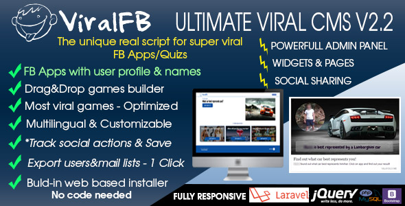 ViralFB v2.0 - The ultimate SUPER VIRAL Quiz