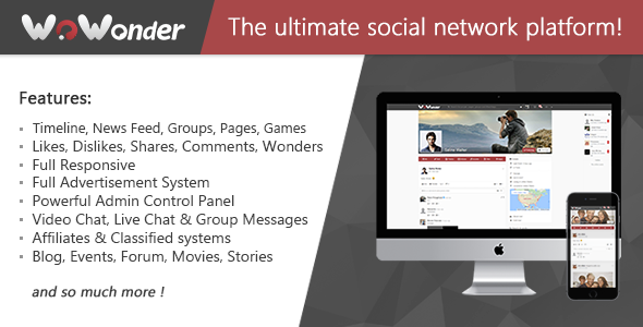 WoWonder v1.5.2 - The Ultimate PHP Social Network Platform