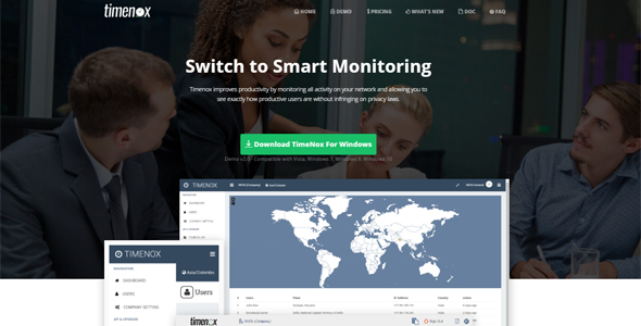 Desktop Monitoring Software With Screenshots Plus Cloud Admin